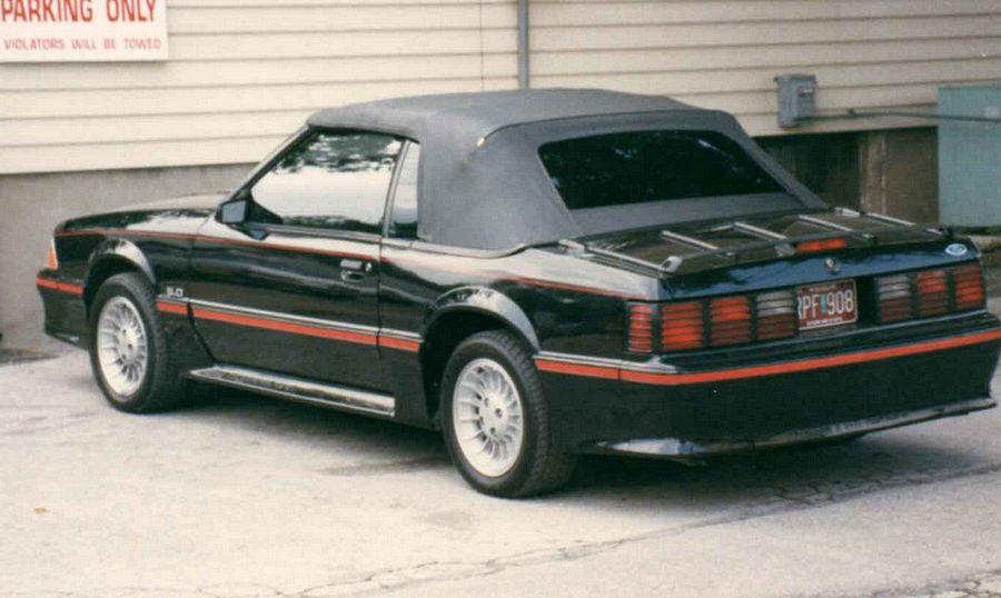 1987 Mustang Convertible